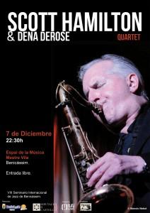 Scott Hamilton & Dena Derose Quartet @ Benicasim | Comunidad Valenciana | España