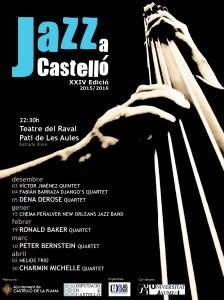 XXIV Jazz a Castelló @ Teatre del Raval i Pati de Les Aules   Castellón de la Plana   Comunidad Valenciana   España
