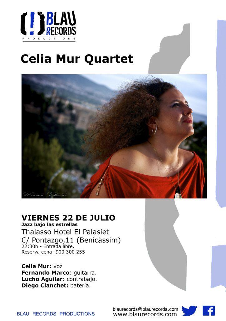 22 julio - Celia Mur Quartet