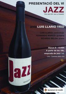 Presentació vi Jazz - XXV Jazz a Castelló @ Cambra dels vins | Castelló de la Plana | Comunidad Valenciana | España