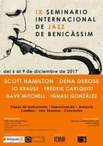 XI Seminario Internacional de Jazz de Benicàssim @ Espai de la Música Mestre Vila | Benicàssim | Comunidad Valenciana | España